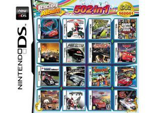 502 Games in 1 NDS Game Pack Card Racing Album Cartridge for Nintendo DS 2DS 3DS New3DS XL
