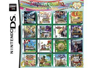 208 Games in 1 NDS Game Pack Card Super Combo Pokemon Mario Album Cartridge for Nintendo DS 2DS 3DS New3DS XL