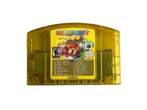 Nintendo N64 Cartridge 18 in 1 Card Mario Party 1 2 3 Mario Bros Castlevania