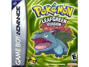 Pokemon: Leaf Green - Pocket Monster Gameboy Advance Cartridges for NDSL NDS GBM GBASP GBA