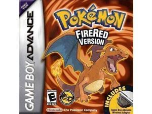 Pokemon: Fire Red - Pocket Monster Gameboy Advance Cartridges for NDSL NDS GBM GBASP GBA
