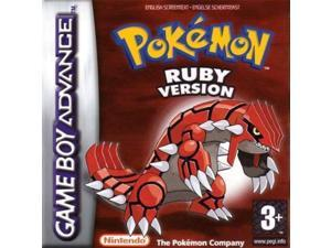 Pokemon: Ruby - Pocket Monster Gameboy Advance Cartridges for NDSL NDS GBM GBASP GBA