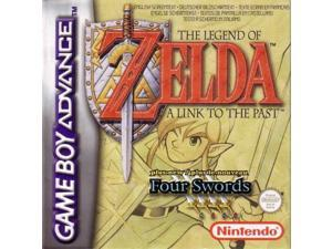 The Legend of Zelda A Link To The Past Four Swords Game Boy Advance GBA Game Card Cartridges