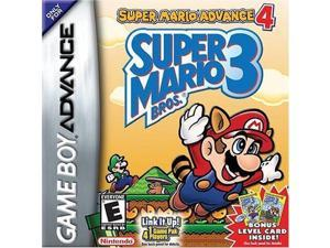 Super Mario Bros 3 + 4 Gameboy Advance Cartridges Video Game Card for GBM NDSL GBASP GBA