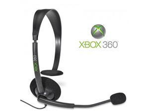 Xbox 360 Black Headset