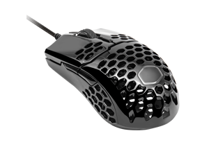Cooler Master MM710 Pro-Grade Gaming Mouse (Matte Black) - 53g Lightweight, Honeycomb Shell, Ultralight Ultraweave Cable, Pixart 3389 16000 DPI Optical Sensor