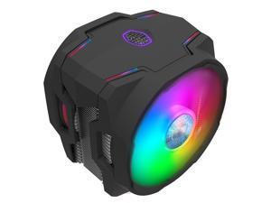 Cooler Master MasterAir MA610P ARGB CPU Air Cooler - with Addressable RGB Controller, Dual SickleFlow 120mm ARGB Fan, 6 CDC Heatpipes, ARGB LED Top Cover