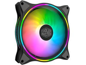 Cooler Master MasterFan MF140 HALO Addressable RGB 140mm Fan with Duo-Ring ARGB LED Lighting