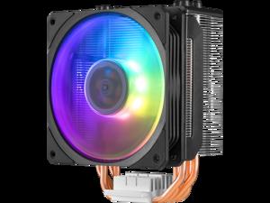 Cooler Master Blizzard T400 (Spectrum ver.) CPU Cooler - Single Mode RGB PWM Fan & 4 Direct Contact Heatpipes - Intel Socket LGA 2066/2011-v3/2011/115x/775, AMD Socket AM3+/AM3/AM2+/AM2/FM2+/FM2/FM1