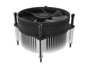 Cooler Master i50c (Copper Core) CPU Cooler - 95mm Super Silent Cooling Fan & Heatsink - For Intel Socket LGA 1150 / 1151 / 1155 / 1156 / 775