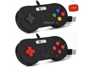 2 Pack SNES USB Controller Game Pad for PC Mac Linux Raspberry Pi 3  Retropie - Newegg com