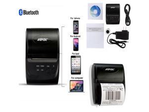 ZJ - 5802LD Mini Bluetooth 2 0 3 0 4 0 58mm Thermal Receipt Printer -  Newegg com