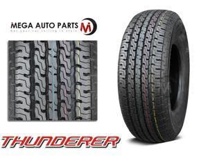 1 X New Thunderer R501 ST205/75R15 107L D Long Mileage All Season Trailer Tires