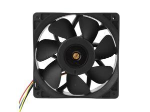 Miner mining server Cooling Fan FFB1212EHE 4000RPM DC 12V 3A Dual Ball Bearing Air Cooler Radiator for CPU PC Case
