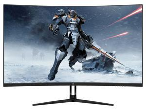 "Z-EDGE UG32 32"" SVA 1080P Full HD1920x1080 165Hz MPRT 1ms 1500R Curved Gaming Monitor, HDMI x2+DP x2, 178° View Angle, Built in Speakers, Eye-Care Technology"
