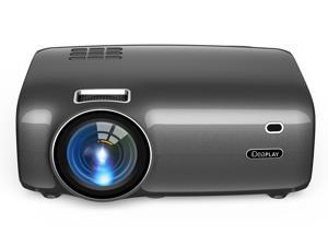 """iDeaPLAY PJ20 720p HD Projector 2600 Lumen 1280x720 Native Resolution Home Theater Projector 36"""" - 200"""" Display, VGA + HDMI + USB ports, Built-in Speakers"""