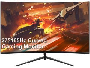 "Z-EDGE UG27 27"" 1080P Full HD 1920x1080 1ms (MPRT) 165Hz Refresh Rate 1500R Curved Gaming Monitor, FreeSync, HDR, Ultra-Slim Bezel, DisplayPort x2, HDMI x2"