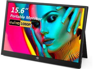 """Z-EDGE Ultra2 15.6"""" 1920 x 1080 Full HD LED Backlight IPS Portable Monitor, 8 ms, 60 Hz, with Type-C HDMI Port, Built-in Speakers, Secondary Display for Mac/Phone/Laptop/Nintendo/Xbox/PS4"""