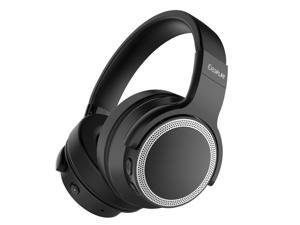 iDeaPlay V206 Bluetooth Headphones, Active Noise Cancelling Headphones Over Ear Wireless Headset Built-in Mic HiFi Stereo Sound upto 28 Hours Playback