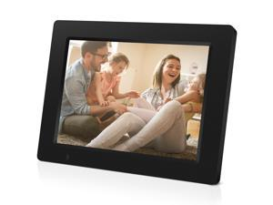 iDeaPLAY DF801 7.85 inch WiFi Digital Photo Frame, 1024x768 HD Display, 8GB Internal Storage, iOS & Android App, Support Photo, Music, Built-in Speaker