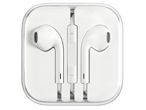 Apple Earphone 3.5 mm Universal Headphones with Remote and Mic White