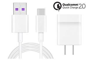 Huawei USB-C Quick Charger for Huawei Phones, Compatible with All Huawei models with TYPE-C Connector