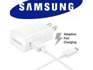 Samsung Fast Charger EP-TA20JWE & Micro USB Cable - White