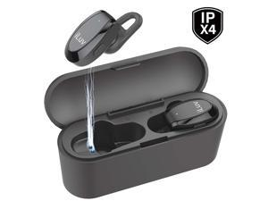 iLuv TrueBTAir True Wireless Stereo In-Ear Earbuds with Charging Case - Black