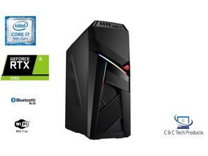 ASUS ROG STRIX Gaming Tower,9th Gen Intel Core i7-9700F Processor,32GB DDR4 RAM,1TB SSD,6GB NVIDIA GeForce RTX 2060,Wifi-AC,BlueTooth 5.0,USB,HDMI,Display Port,Windows 10 Home