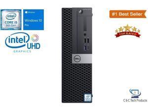 Dell Optiplex 5070 Small Form,9th Gen Intel Core i5-9500 Six Core Processor,16GB DDR4,256GB SSD,Intel UHD Graphics 630,USB,Display Port,Windows 10 Pro