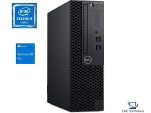 Dell Optiplex 3070 Small Form,Intel Celeron G4930 Dual Core Processor, 8GB DDR4, 128GB SSD,DVD-RW, Intel HD Graphics,USB, HDMI ,Display Port, Windows 10 Pro