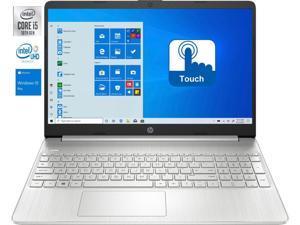 "HP 15.6"" HD TouchScreen LED Notebook,10th Gen Intel Core i5-1035G1 Quad Core Processor,16GB DDR4 RAM,256GB SSD,Intel UHD Graphics,Wifi,Bluetooth,USB,HDMI, Windows 10 Pro"