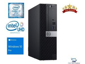 Dell Optiplex 7070 Small Form,9th Gen Intel Core i7-9700 vPro 8-Core Processor, 16GB DDR4,512GB SSD, DVD-RW, Intel UHD Graphics, USB, Display Port,Windows 10 Pro