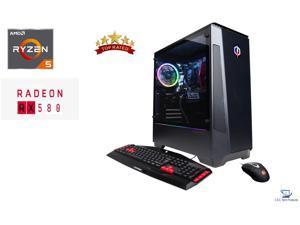 CyberpowerPC Gaming Master,AMD Ryzen 5 3600 3.60GHz,16GB DDR4 RAM,240GB SSD PLUS 2TB HDD, 8GB AMD Radeon RX 580,Wifi-AC,USB,HDMI, Windows 10 Home 64-Bit