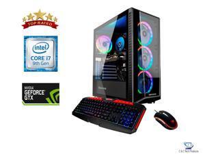 **OPEN CARTON** iBUYPOWER Gaming Desktop, 9th Gen Intel Core i7-9700F 3.0 GHz,16GB DDR4 RAM, 480GB SSD PLUS 1TB HDD, 6GB NVIDIA GeForce GTX 1660 SUPER,Wifi-AC,USB,HDMI,DisplayPort, Windows 10 Home