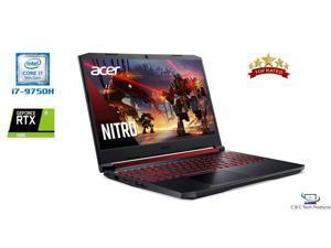 "Acer Nitro 5 15.6"" Full HD IPS 144Hz Gaming Laptop, 9th Gen Intel Core i7-9750H,32GB DDR4,1TB SSD,6GB Nvidia GeForce RTX 2060 Wifi-AX,Bluetooth,HDMI,Windows 10 Home"