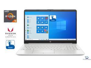 "HP 15.6"" HD Touch Screen Notebook,AMD RYZEN 5 3500U Processor,16GB DDR4 RAM,128GB SSD Plus 1TB HDD,AMD Radeon Vega 8 Graphics,HD Webcam,Wifi,Bluetooth,HDMI,USB,Windows 10 Pro"