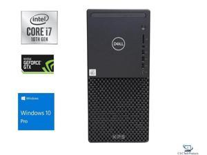Dell XPS 8940 10th Gen Intel Core i7-10700 8-Core Processor,32GB DDR4, 1TB SSD Plus 1TB HDD,6GB NVIDIA GeForce GTX 1660Ti, DVD-RW,Killer Wifi 6-AX,Bluetooth 5, Dual Monitor Capable, Windows 10 Pro