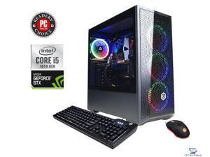 CyberpowerPC Gamer Xtreme VR Gaming Desktop, 10th Gen Intel Core i5-10400F Processor,16GB DDR4 RAM, 1TB SSD, 6GB NVIDIA GeForce GTX 1660 Super, Wifi, USB,HDMI, DisplayPort, Windows 10 Home 64-Bit