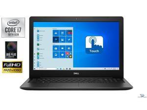 "Dell Inspiron 3593  15.6"" Full HD TouchScreen Laptop,10th Gen Intel Core i7-1065G7,16GB DDR4,256GB SSD Plus 1TB HDD,Intel Iris Plus Graphics,Wifi-AC,Bluetooth,HDMI,USB, Windows 10 Pro"
