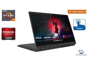 "Lenovo Flex 5 14.0"" Full HD 2-in-1 Touchscreen Notebook,4th Gen AMD Ryzen 5 4500U,16GB DDR4,256GB SSD,AMD Radeon Graphics,Wifi-AC,Bluetooth,HDMI,USB,Fingerprint Reader,Windows 10 Pro"