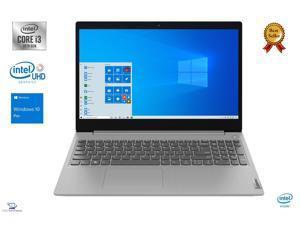 """Lenovo IdeaPad 3 15.6"""" Full HD IPS Notebook, 10th Gen Intel Core i3-1005G1 Processor, 8GB DDR4 RAM, 1TB SSD, Intel UHD Graphics, WiFi-AC, Bluetooth, HDMI, USB, Windows 10 Pro"""