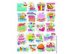 BIRTHDAY THEME STICKERS             - Pack of 1