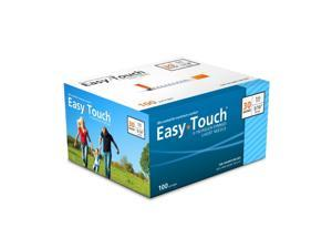 MHC EasyTouch Insulin Syringe 30G 1cc (1mL) 8mm (5/16in) (100 Count)