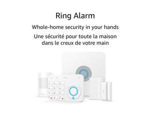 Ring Alarm 5 Piece Kit (1st Gen) – Home Security System with optional 24/7 Professional -New