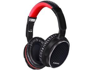 AUSDOM ANC 7 Active Noise Canceling Over Ear Headphones with Mic, Wireless Bluetooth apt-X HiFi Stereo Headsets Comfortable Foldable Earpads with Carrying Case for Travel,iPhone,Android,PC,TV