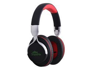 Mixcder ShareMe 7 Bluetooth Over-ear Headphones Comfortable Advanced Stereo Wireless+Wired Foldable Headsets with Mic for Adults Kids