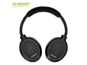 Ausdom M06 Lightweight Stereo Wired Wireless Bluetooth EDR Over Ear Headphones Deep Bass with Built-in Mic for Music Streaming Hands-free Calling Headset