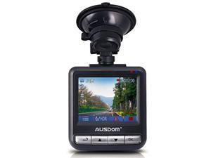 """Ausdom AD282 Dash Cam, 2.4"""" LCD 2K Wide Angle Car DVR with 1296 P Ambarella A7, G-Sensor, WDR, Loop Recording, Night Vision, support for 64G memory card"""