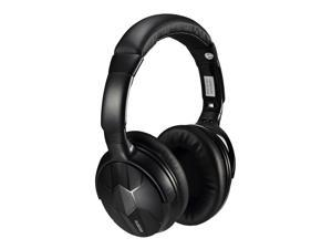 AUSDOM M04s HiFi NFC Bluetooth Headphone Over Ear Wireless Headphones with Mic Strong Bass Stereo Headset for iPhone Xiaomi PC  Black